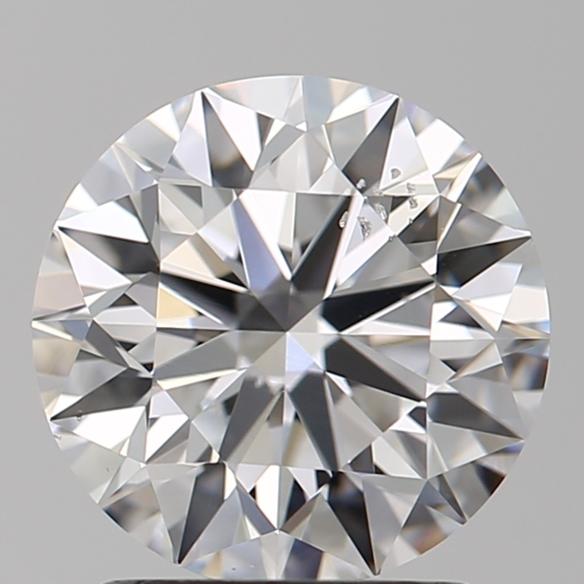 1.90 Carat Round Brilliant Diamond (D/SI1)