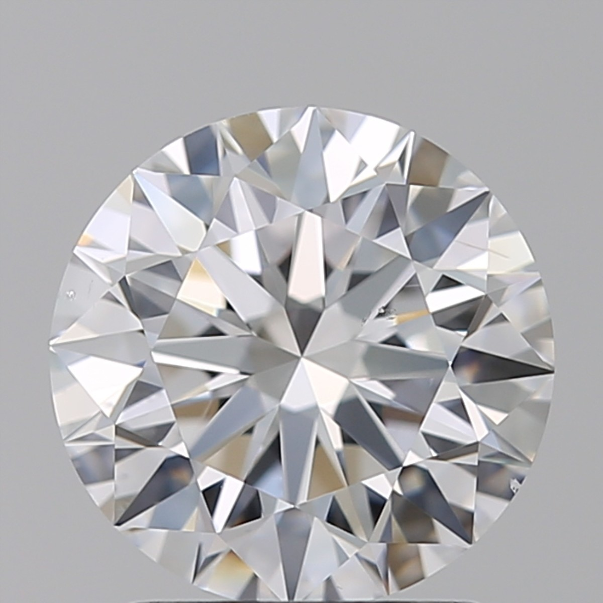 1.70 Carat Round Brilliant Diamond (D/SI1)
