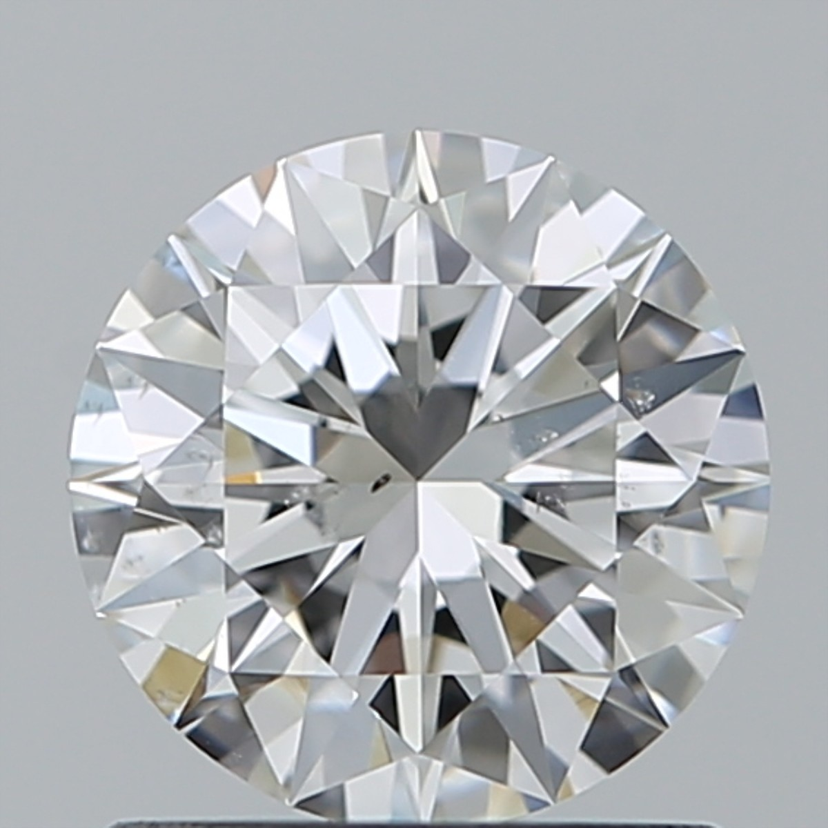0.90 Carat Round Brilliant Diamond (F/SI1)