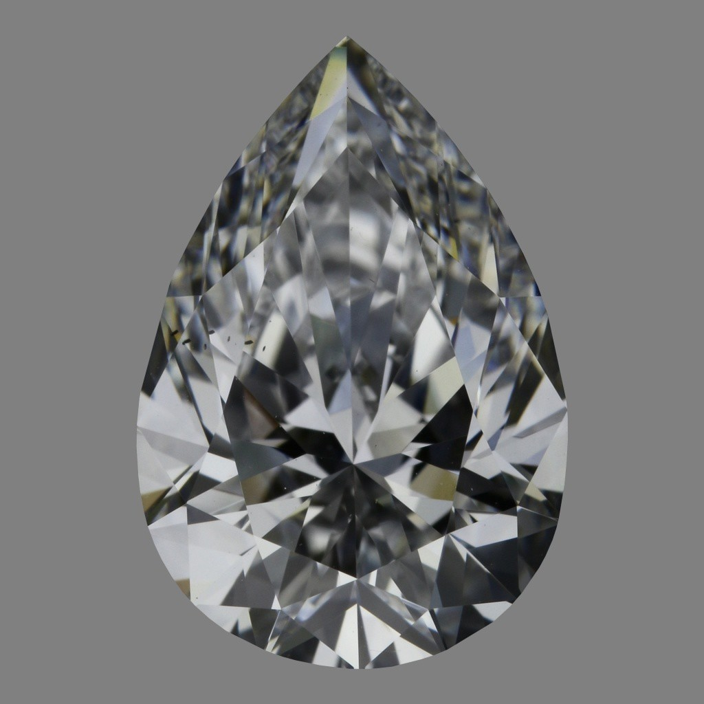 2.01 Carat Pear Diamond (D/VS2)