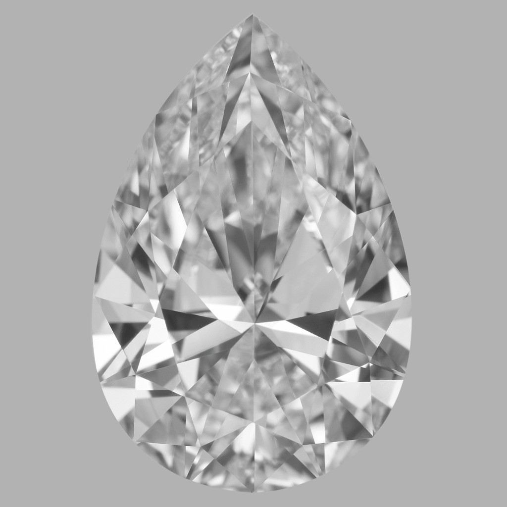 5.01 Carat Pear Diamond (D/IF)