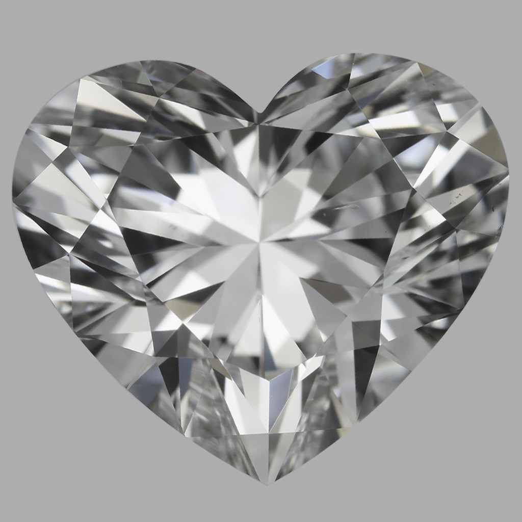 3.02 Carat Heart Diamond (D/VS2)