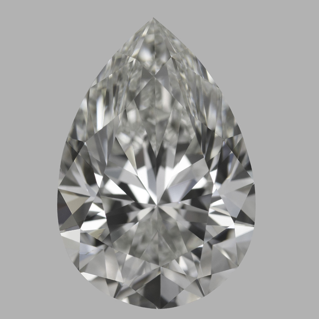 4.02 Carat Pear Diamond (I/VS2)