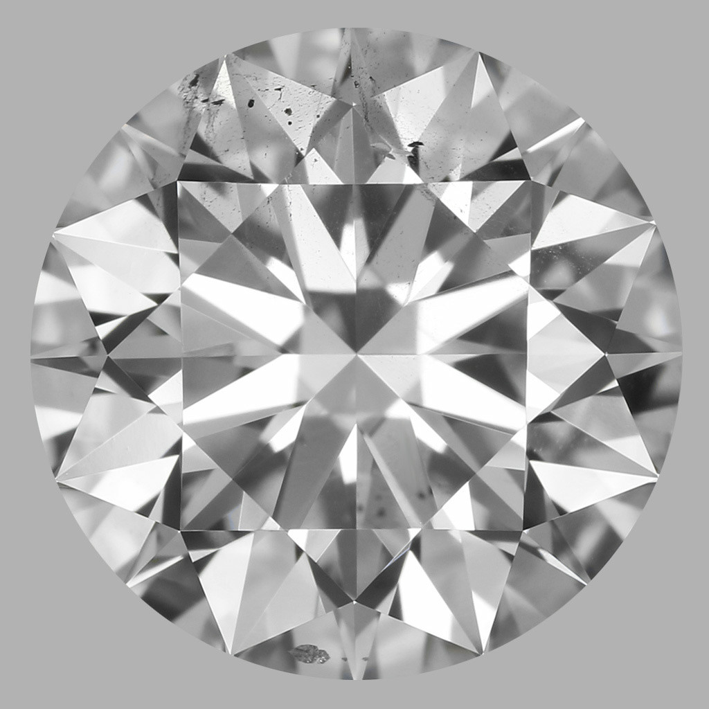 1.71 Carat Round Brilliant Diamond (D/SI1)