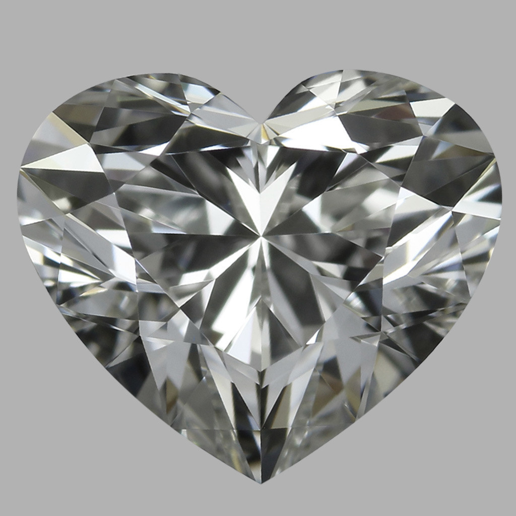 0.93 Carat Heart Diamond (H/VVS1)