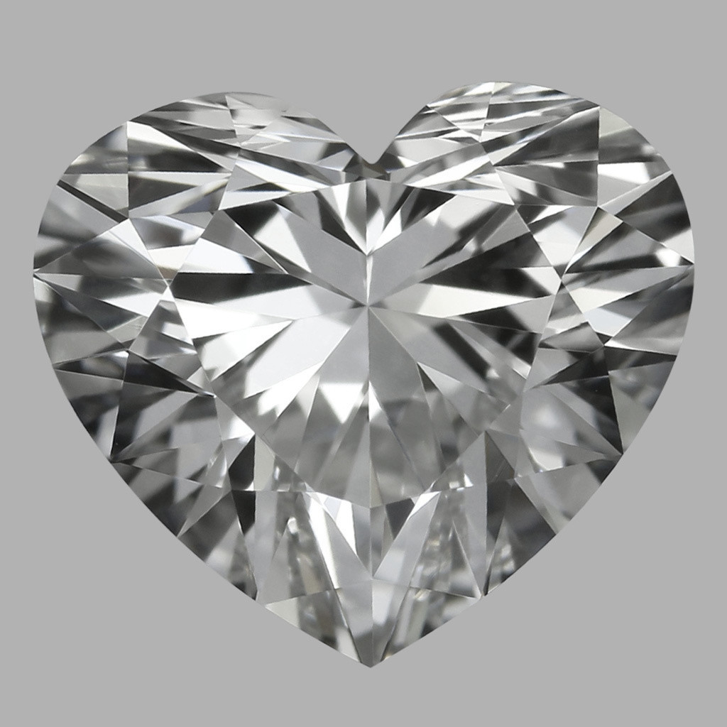 0.81 Carat Heart Diamond (G/IF)