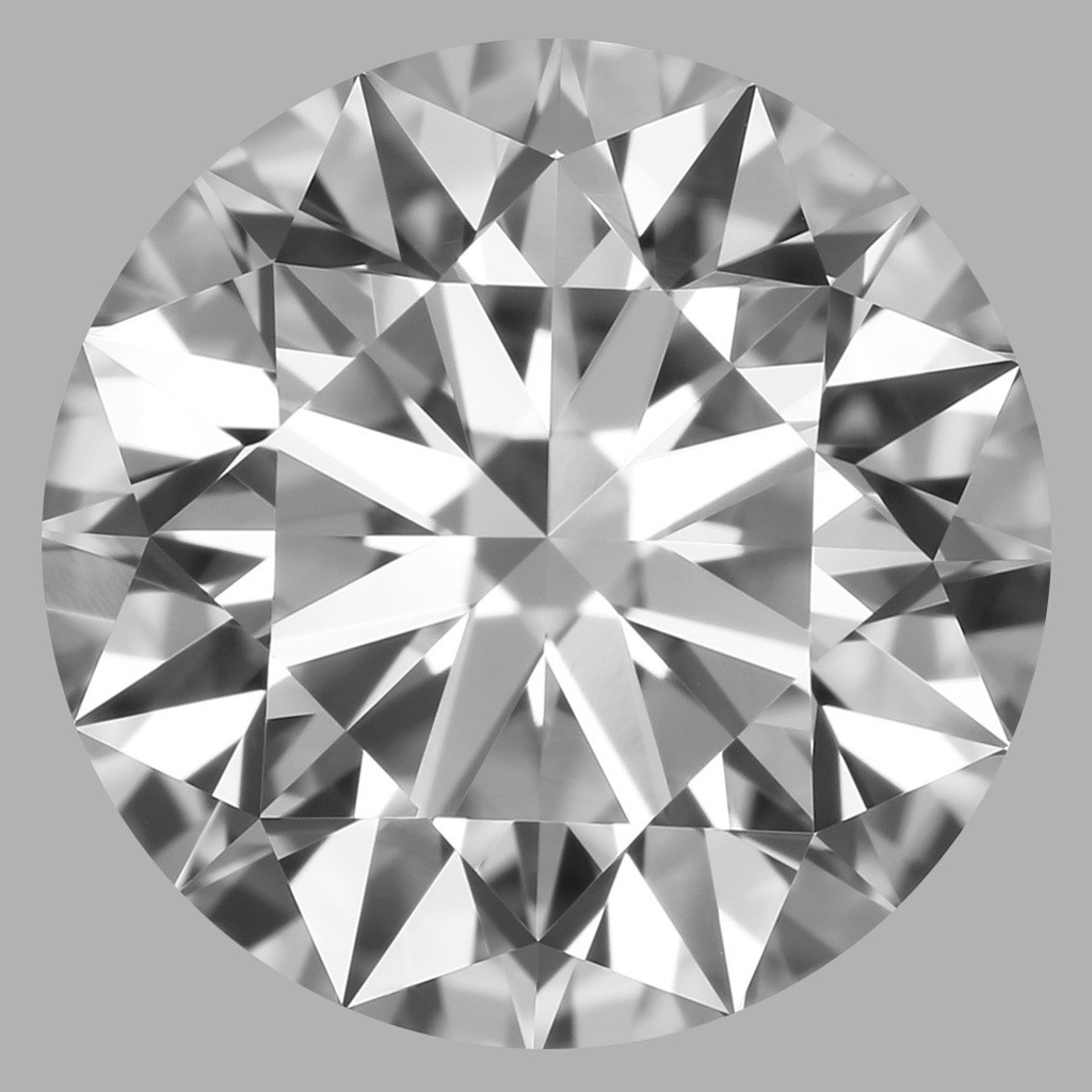 1.71 Carat Round Brilliant Diamond (D/VVS1)