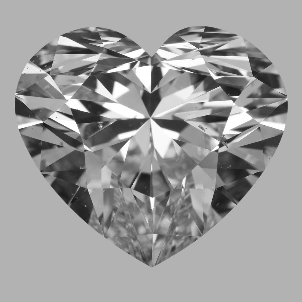 11.14 Carat Heart Diamond (E/SI1)