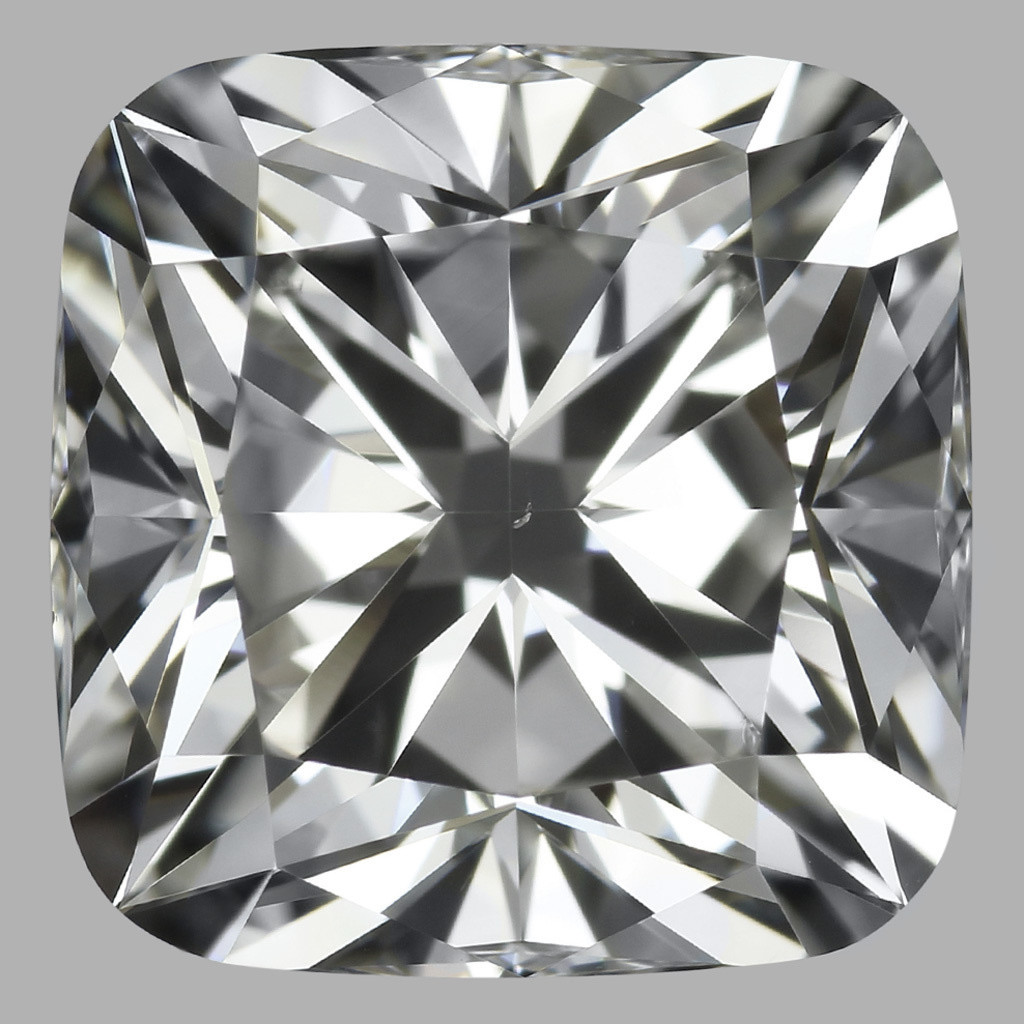 3.02 Carat Cushion Diamond (I/VS2)