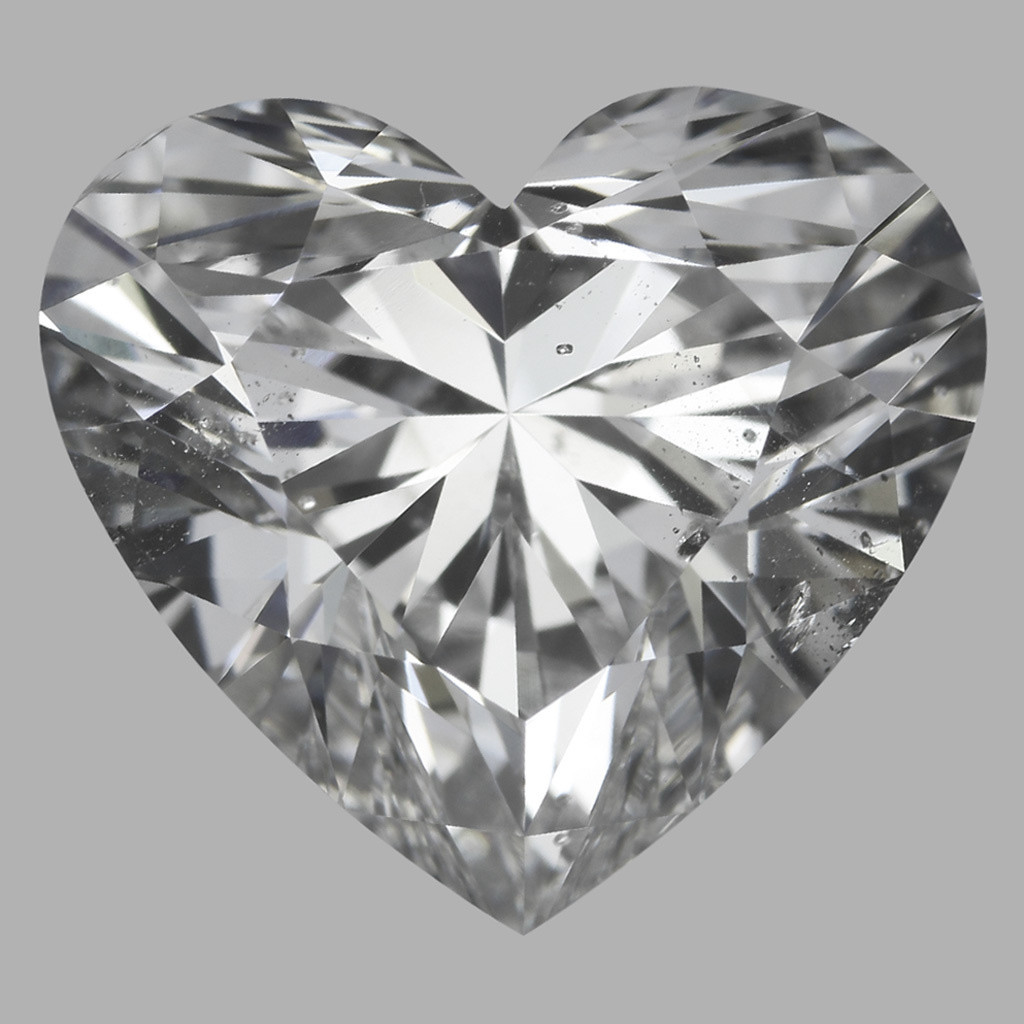 3.02 Carat Heart Diamond (D/SI1)