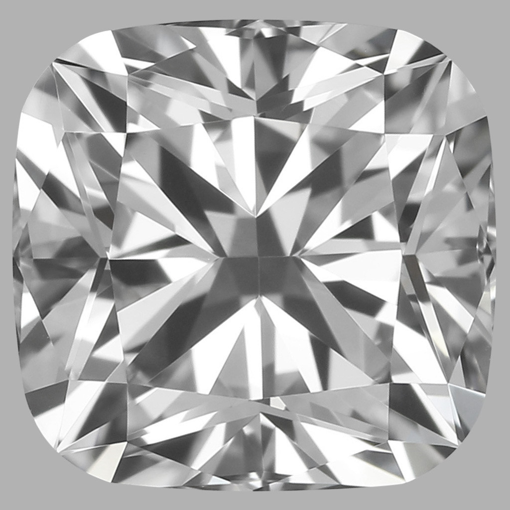 0.80 Carat Cushion Diamond (D/VVS2)