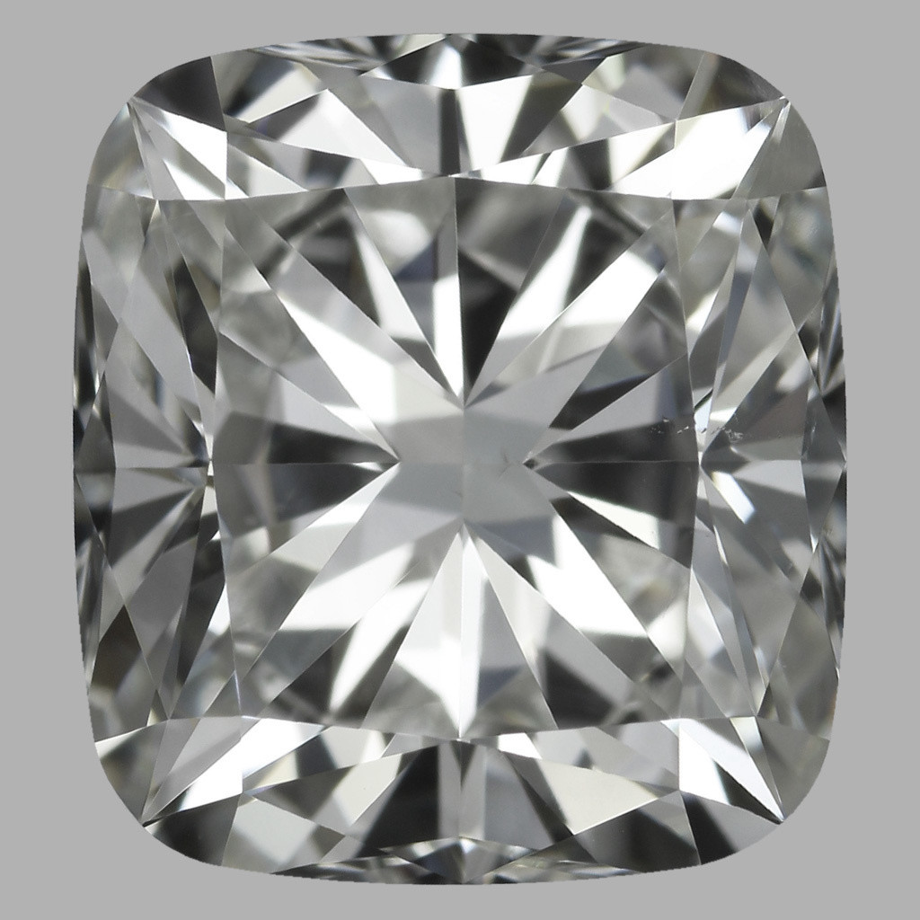 2.02 Carat Cushion Diamond (H/VS2)