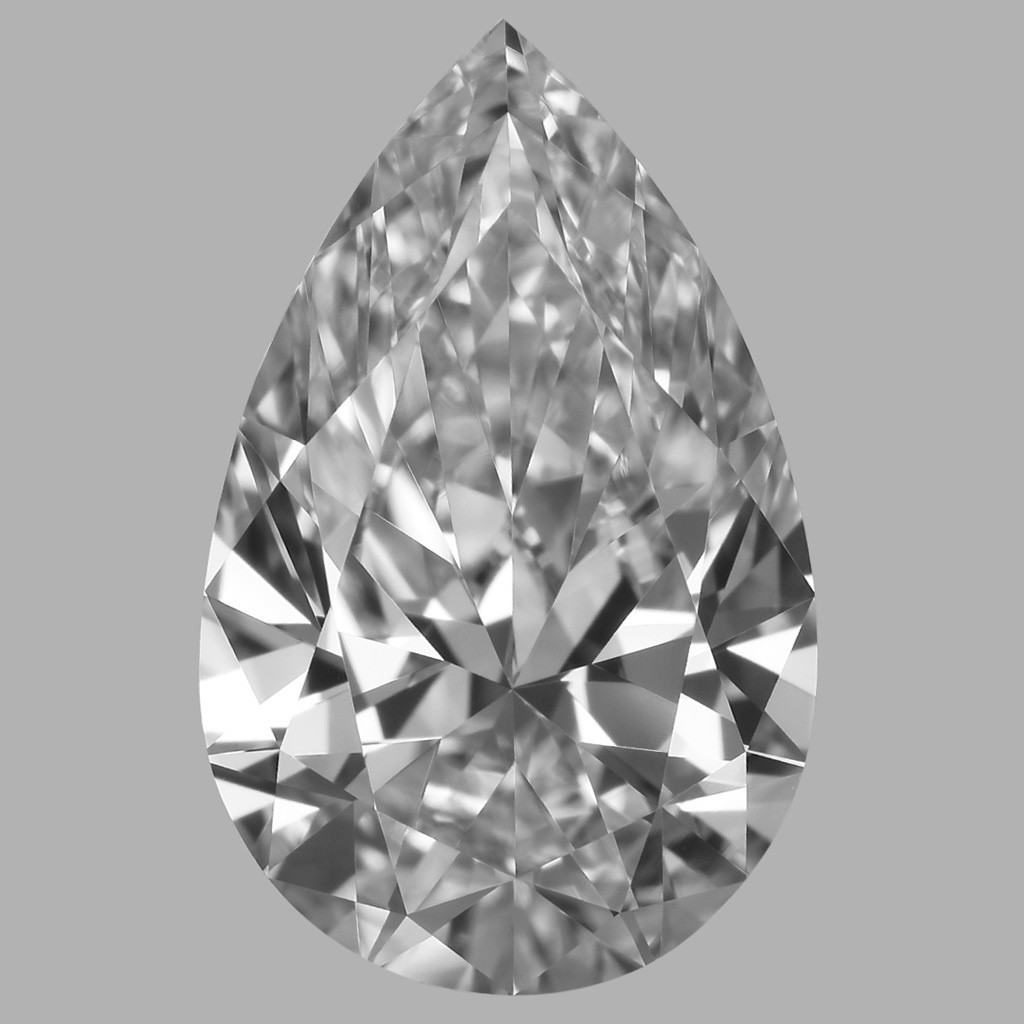 1.02 Carat Pear Diamond (D/IF)