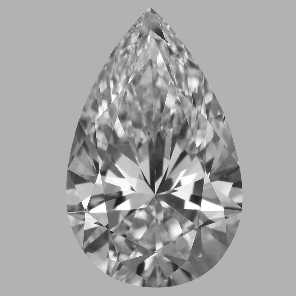 1.91 Carat Pear Diamond (D/FL)
