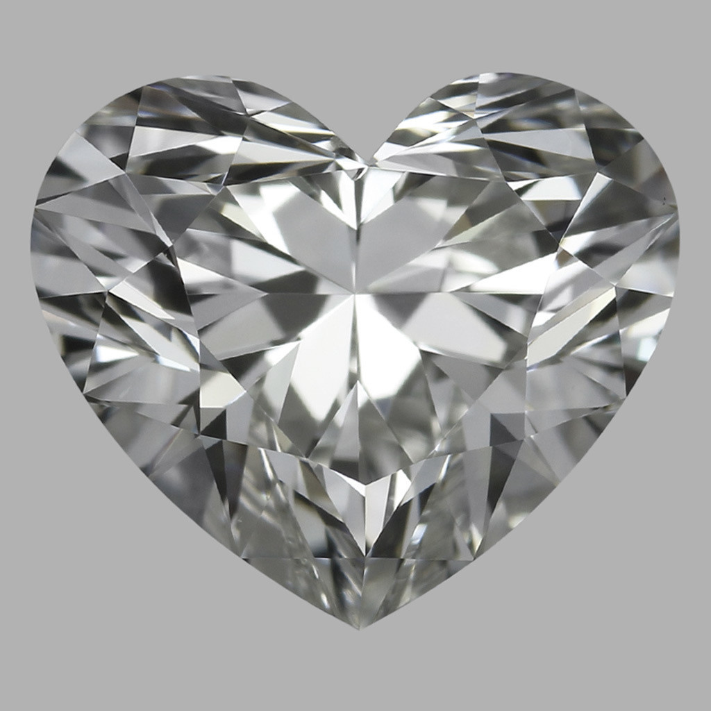 1.23 Carat Heart Diamond (H/VS1)