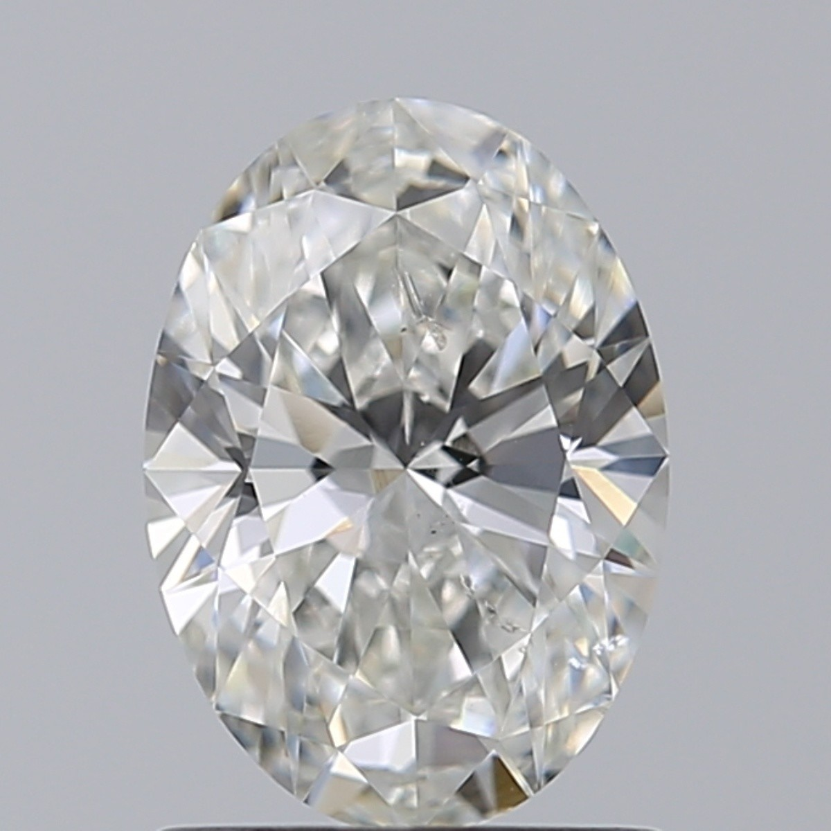 1.03 Carat Oval Diamond (H/SI2)