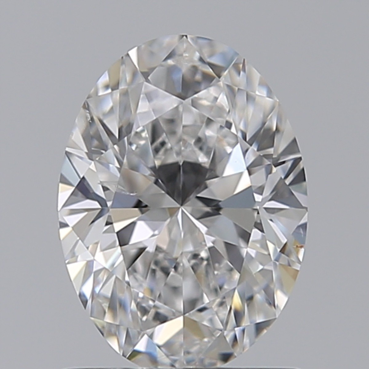 1.01 Carat Oval Diamond (D/SI1)