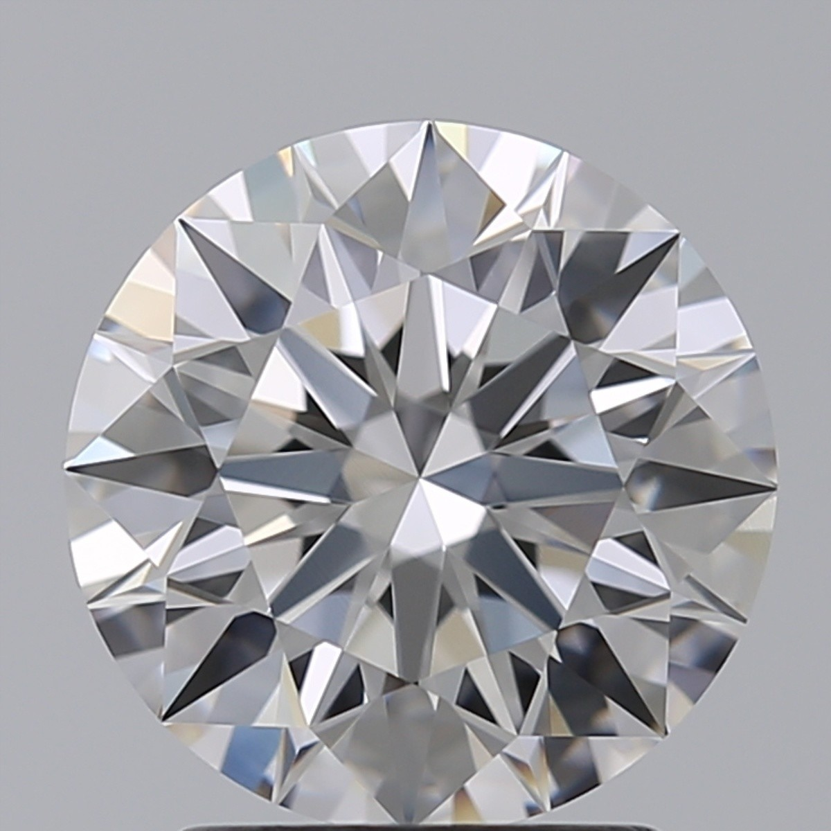 2.08 Carat Round Brilliant Diamond (D/FL)