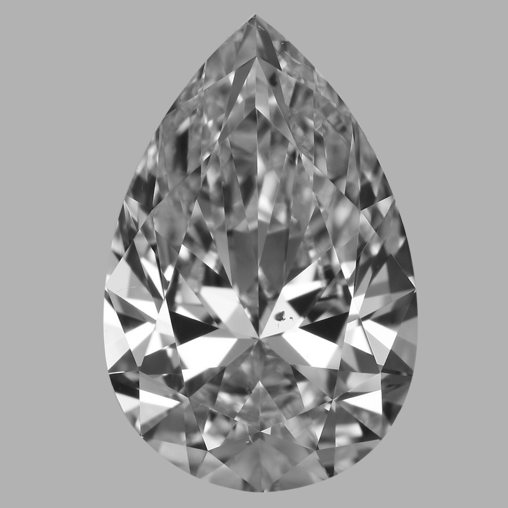 1.52 Carat Pear Diamond (E/SI1)