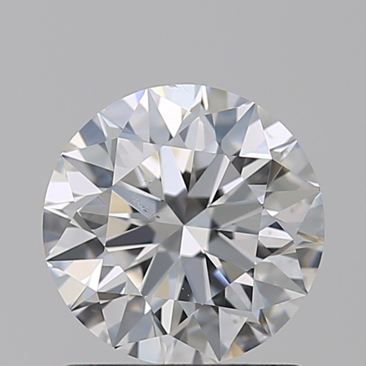 1.01 Carat Round Brilliant Diamond (D/SI1)