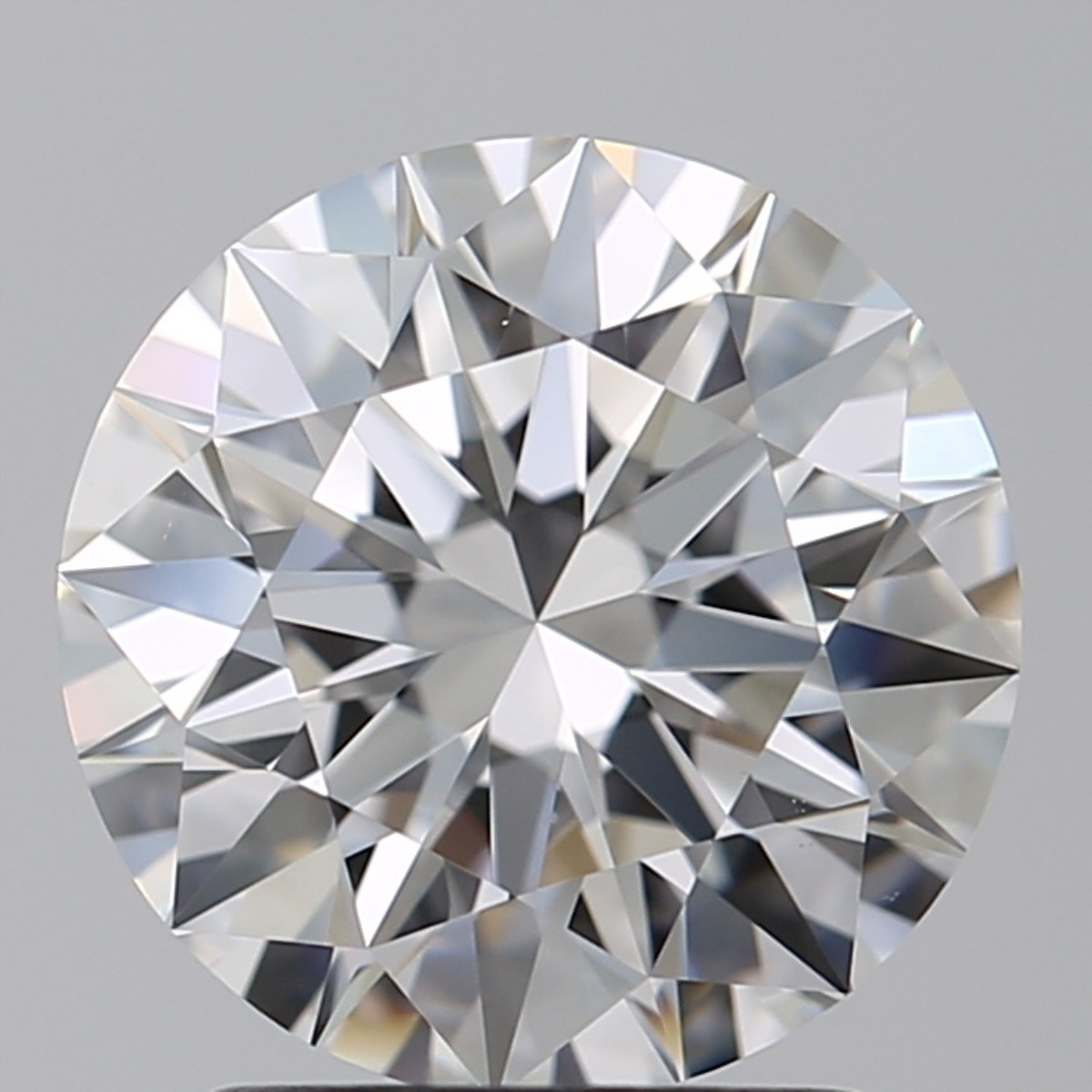 2.12 Carat Round Brilliant Diamond (E/VS1)