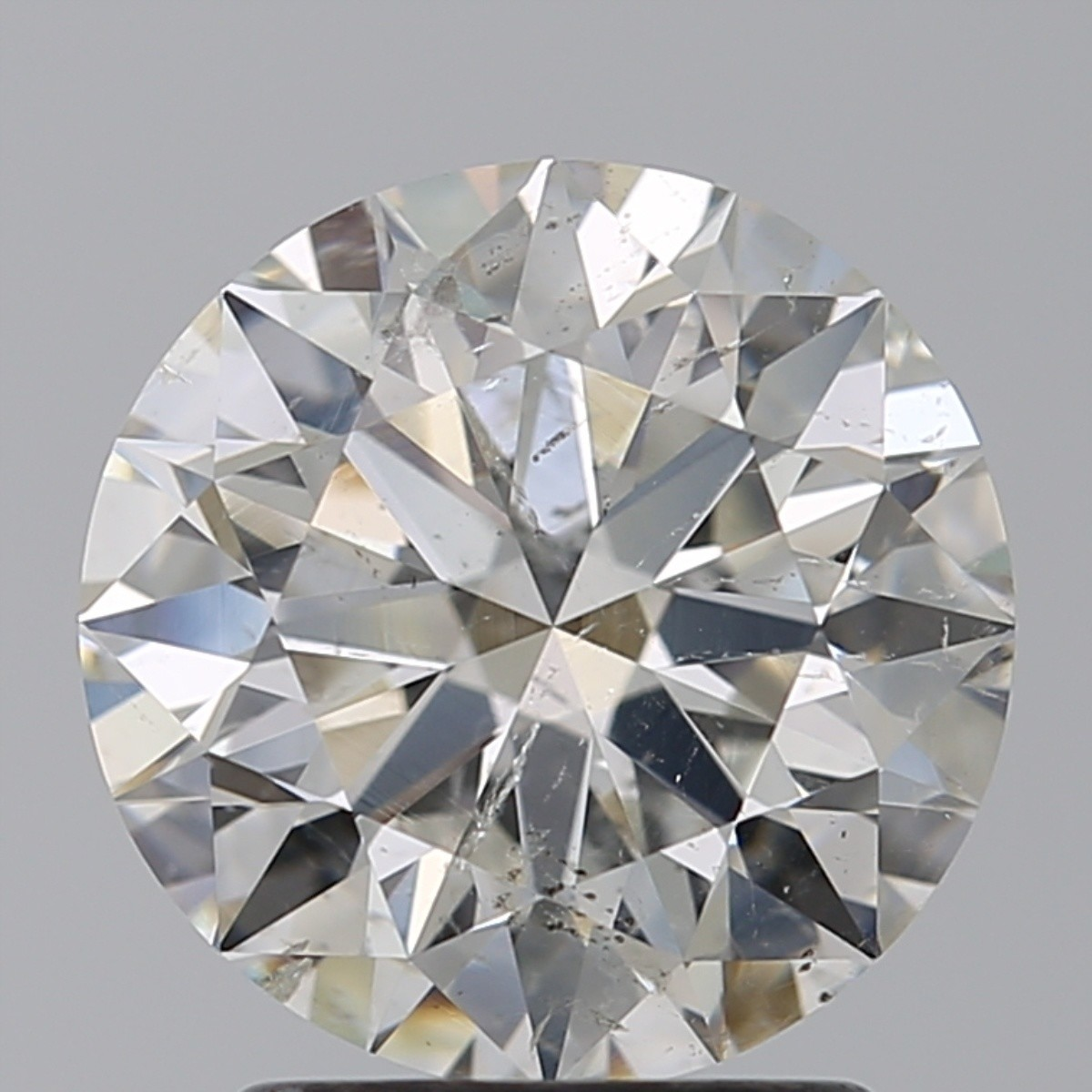 2.21 Carat Round Brilliant Diamond (H/SI2)