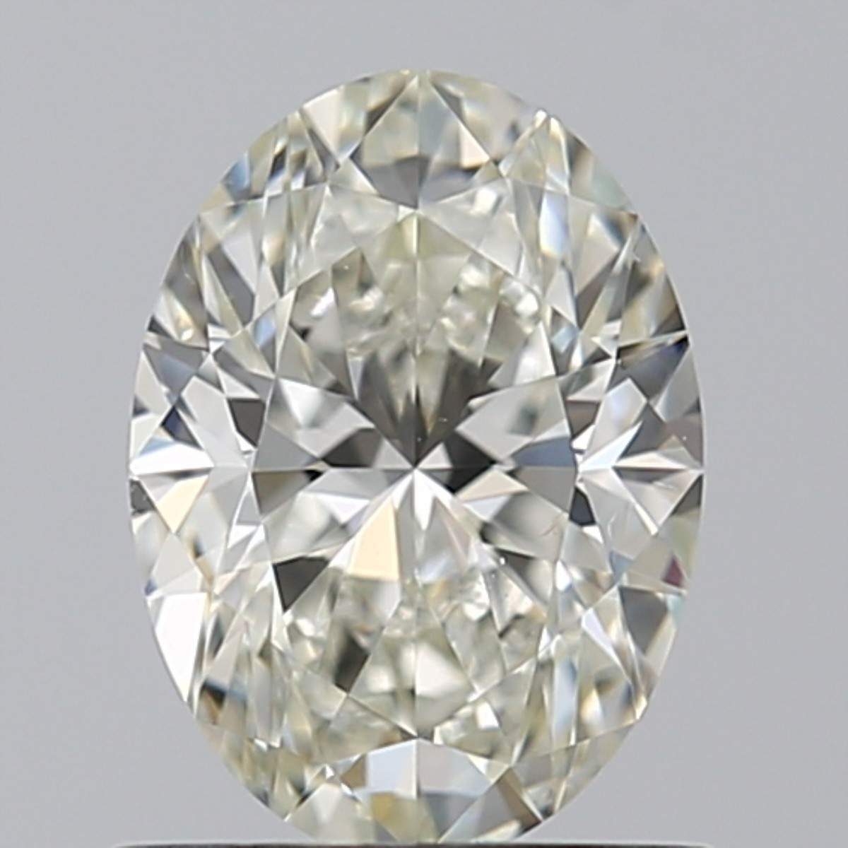 0.80 Carat Oval Diamond (J/VS2)