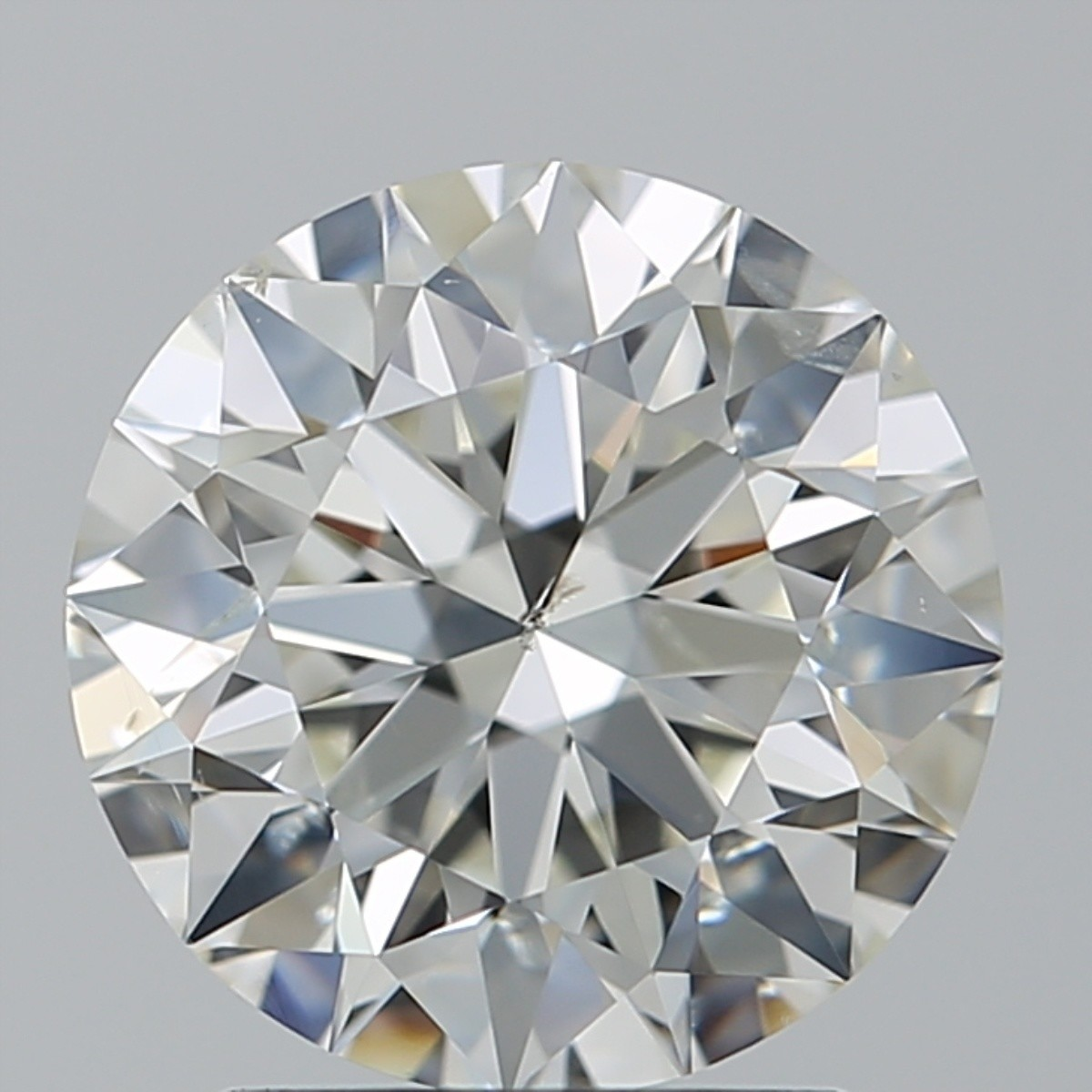 2.03 Carat Round Brilliant Diamond (I/SI2)