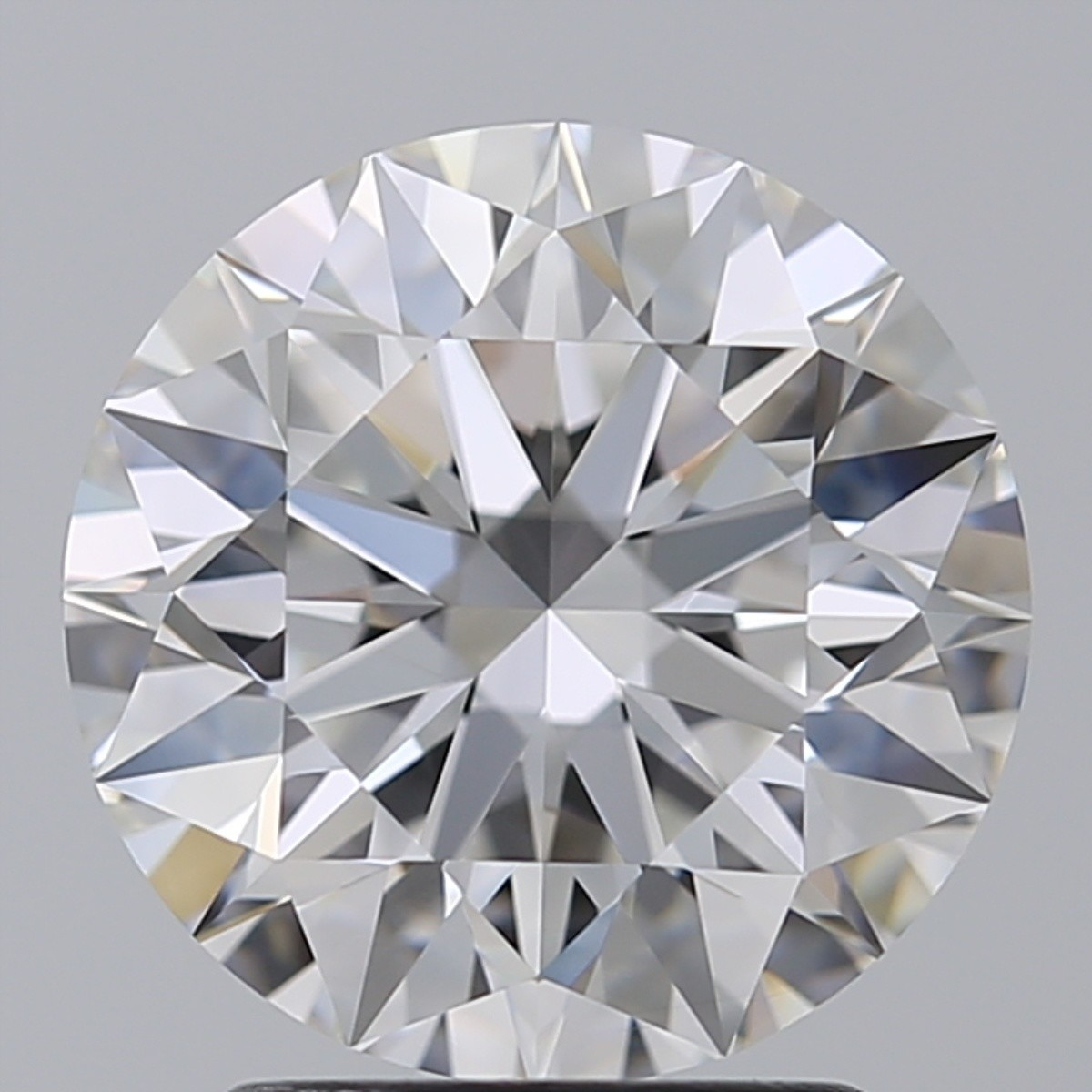 2.56 Carat Round Brilliant Diamond (E/VVS1)