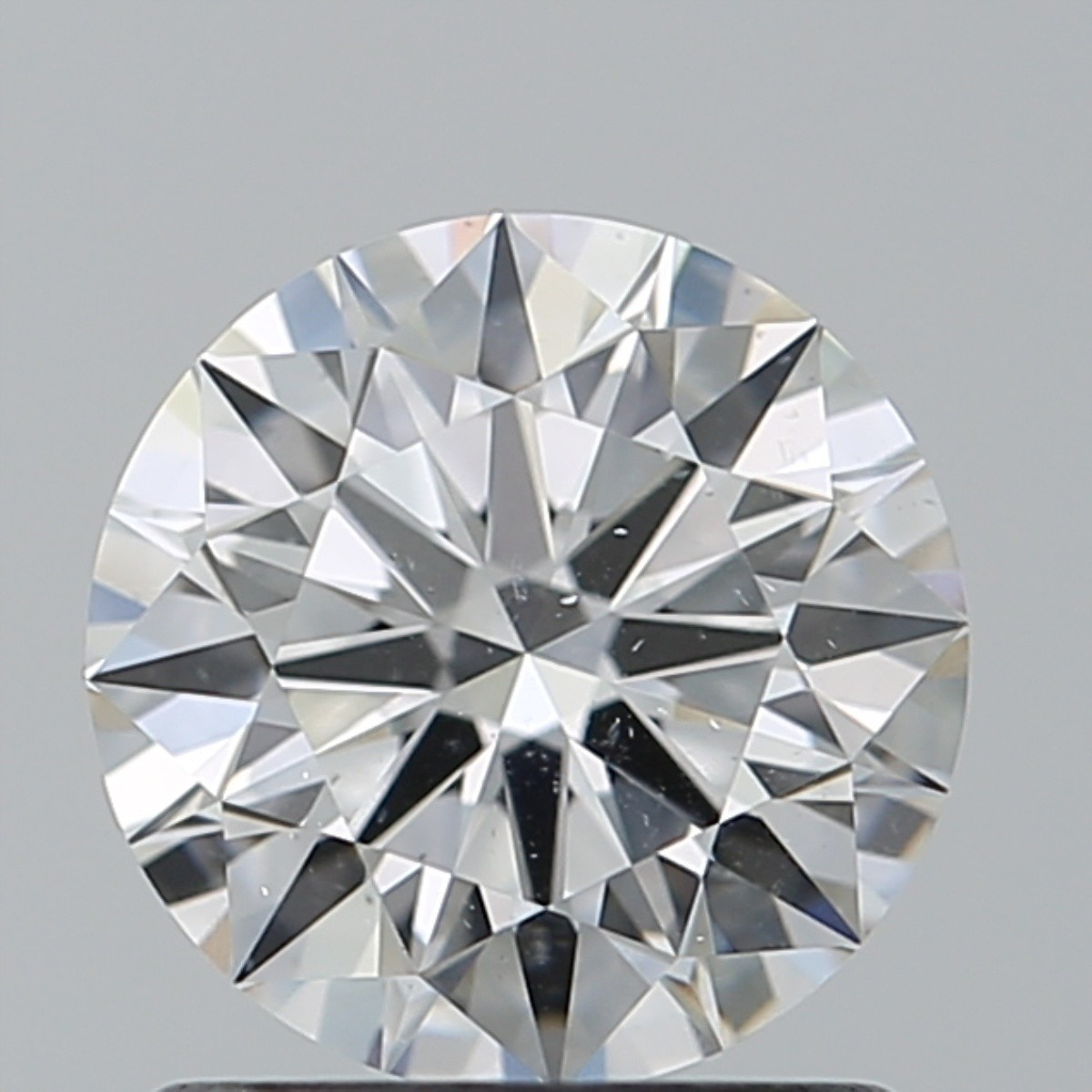 1.07 Carat Round Brilliant Diamond (F/SI1)