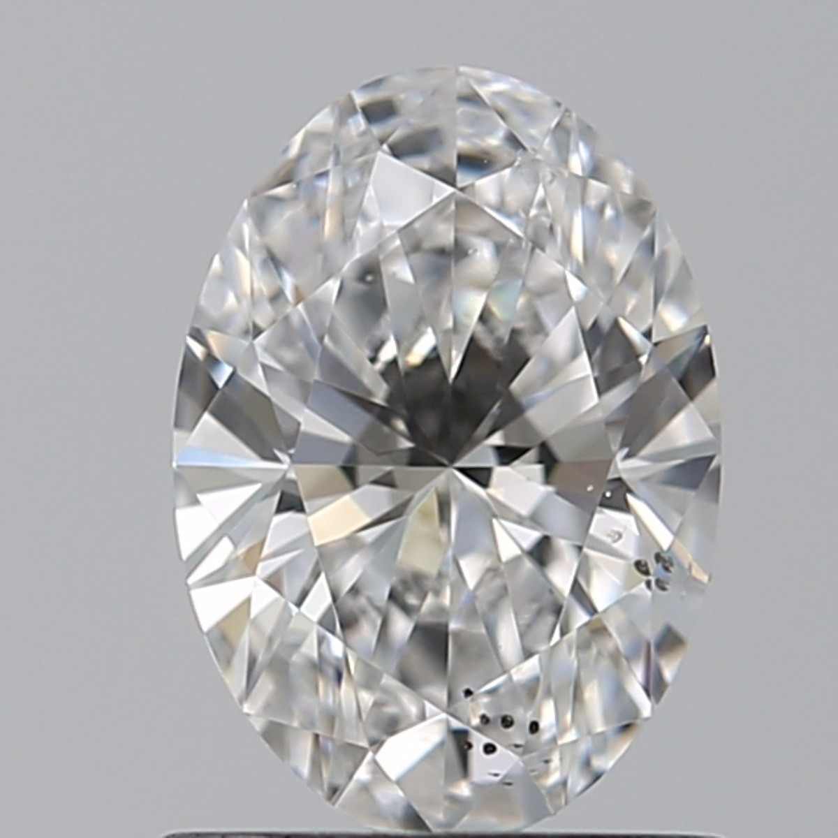 0.81 Carat Oval Diamond (F/SI1)