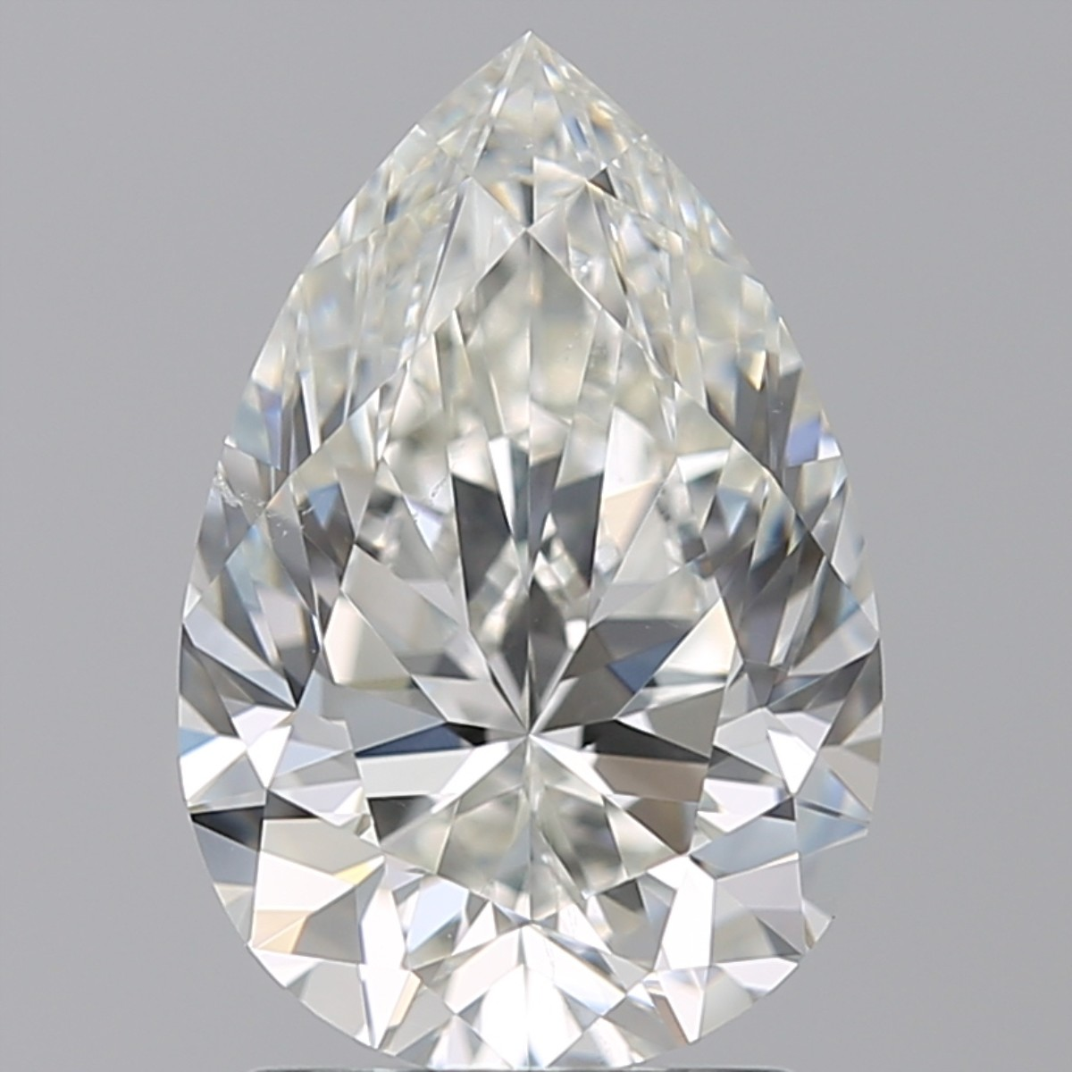 2.01 Carat Pear Diamond (I/SI1)