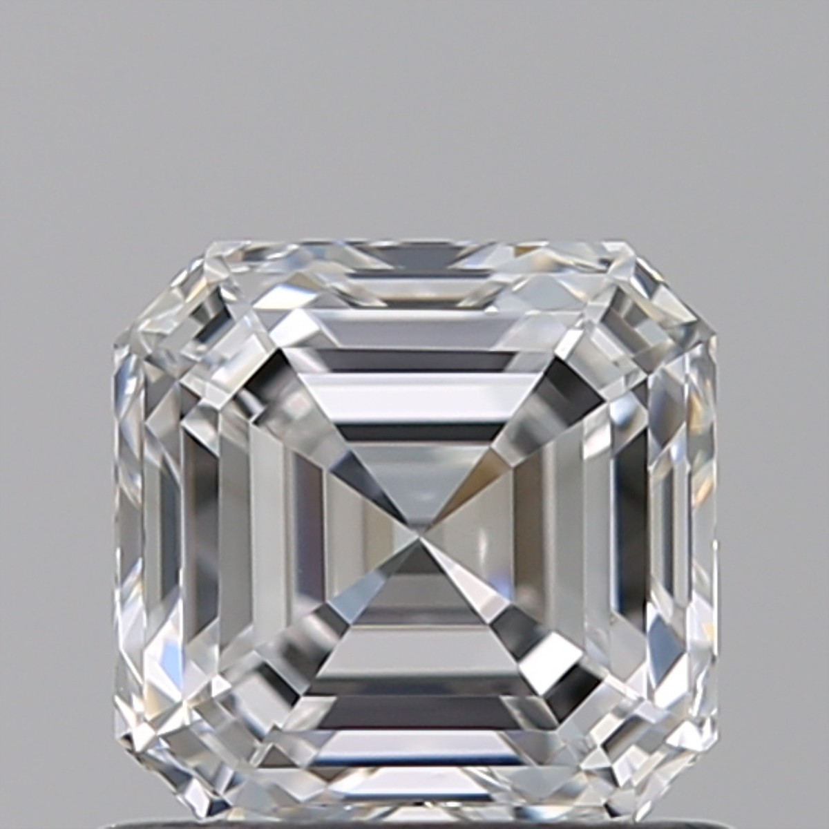 0.91 Carat Asscher Diamond (E/VS1)