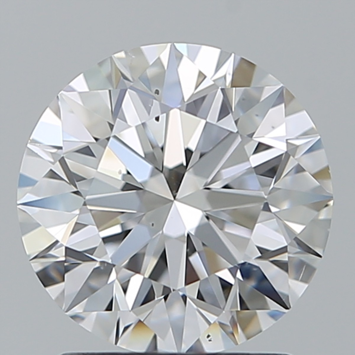 1.54 Carat Round Brilliant Diamond (D/SI1)