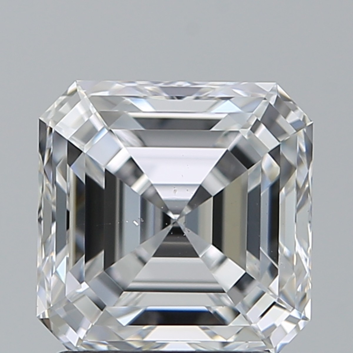 2.01 Carat Asscher Diamond (D/VS2)