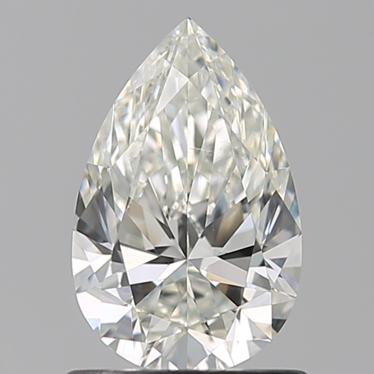 0.81 Carat Pear Diamond (J/VS2)