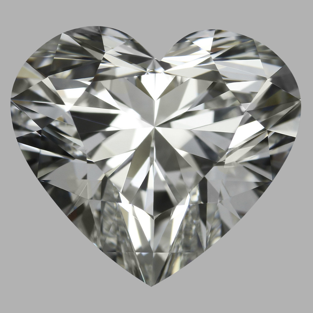 3.03 Carat Heart Diamond (H/VVS2)