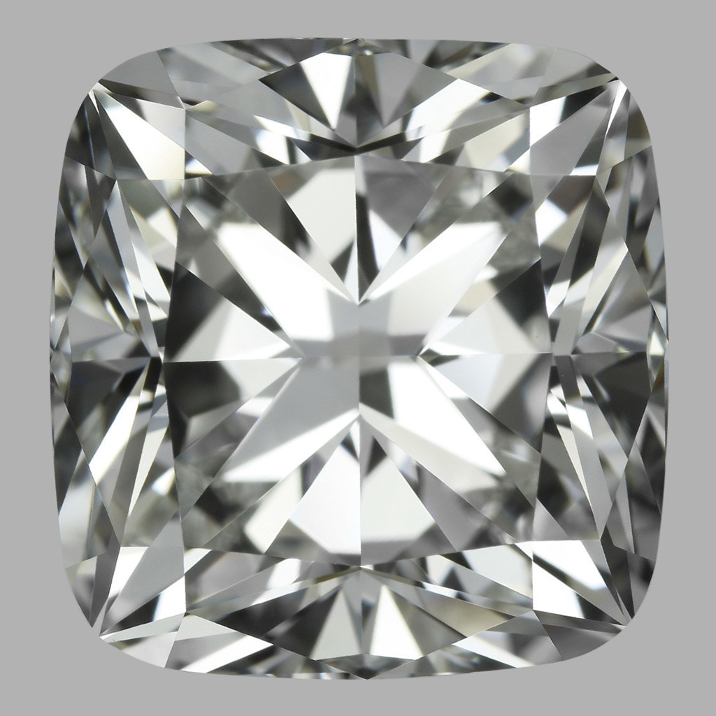 5.06 Carat Cushion Diamond (H/VVS1)