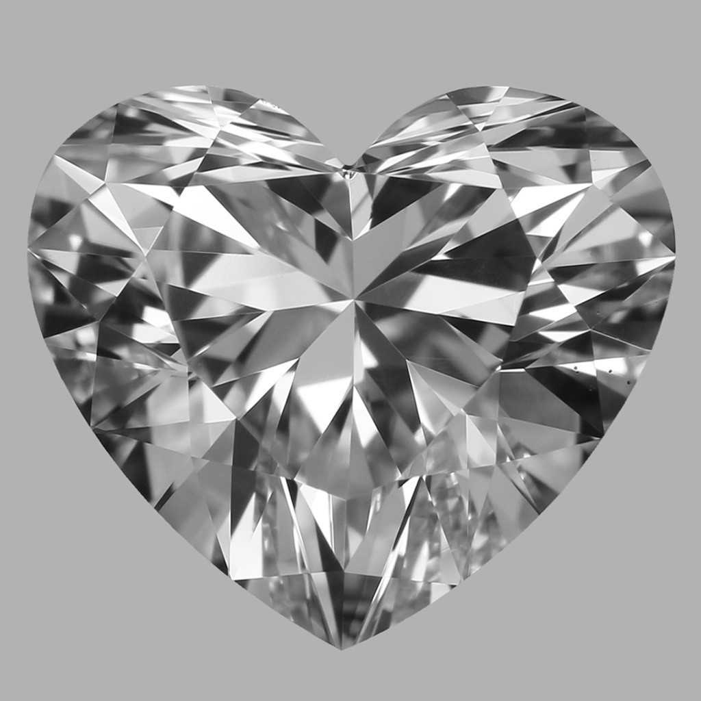 1.06 Carat Heart Diamond (E/VS1)