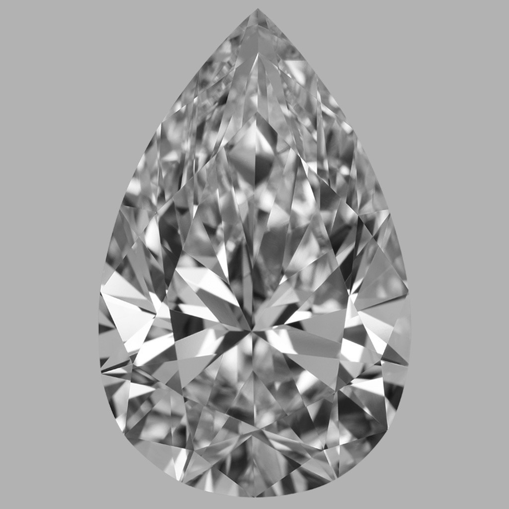 11.16 Carat Pear Diamond (D/FL)