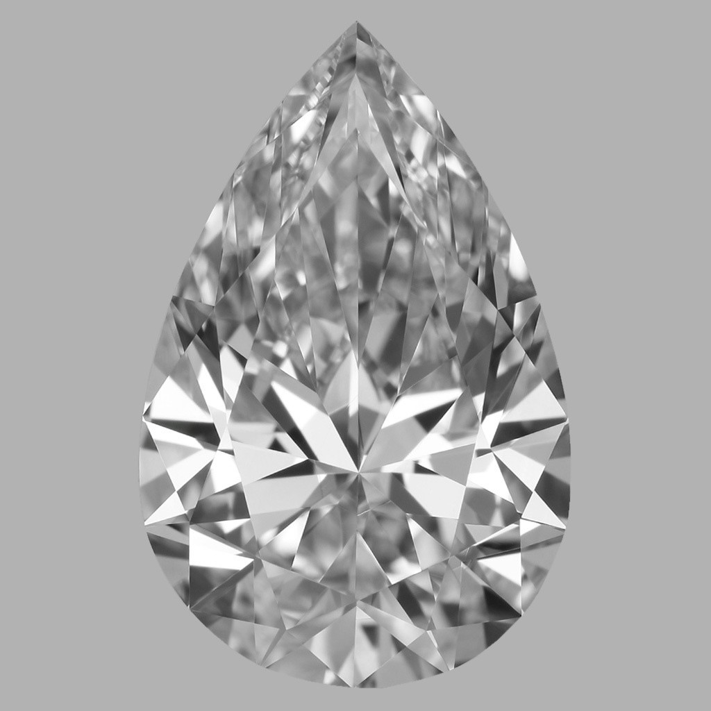 2.05 Carat Pear Diamond (E/IF)