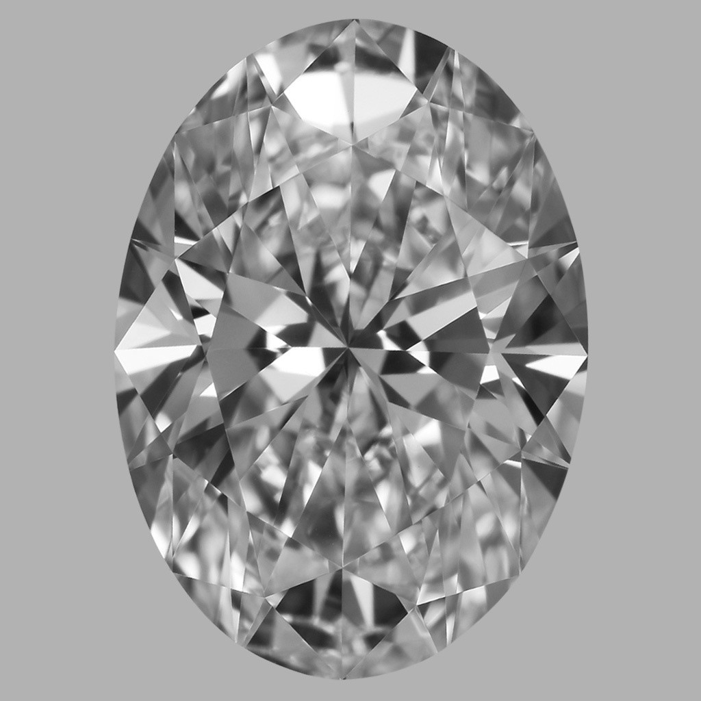 1.70 Carat Oval Diamond (D/VVS2)