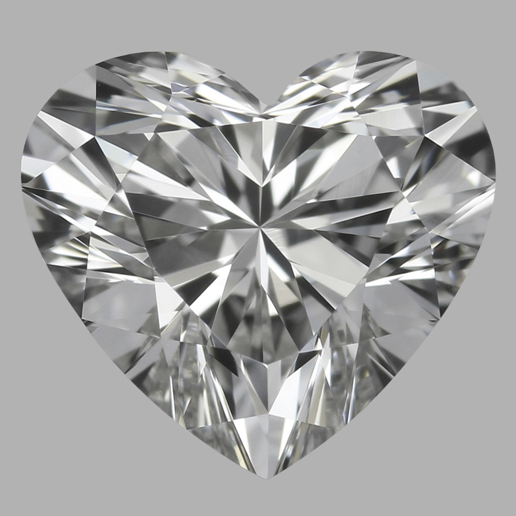 0.75 Carat Heart Diamond (F/VVS1)