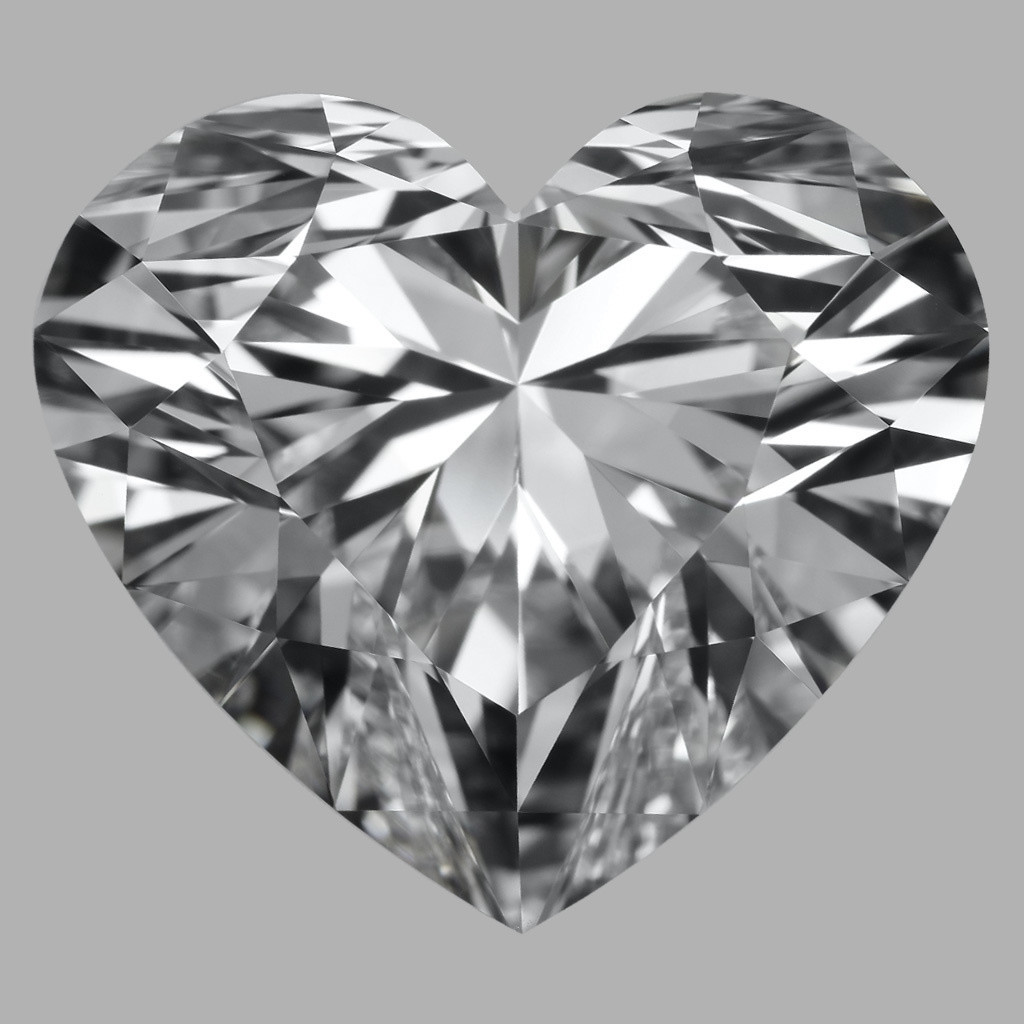 10.09 Carat Heart Diamond (D/IF)