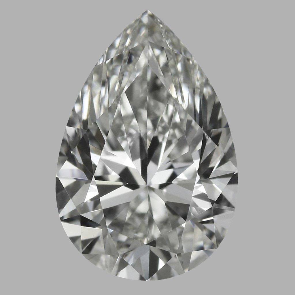 0.76 Carat Pear Diamond (I/VVS2)
