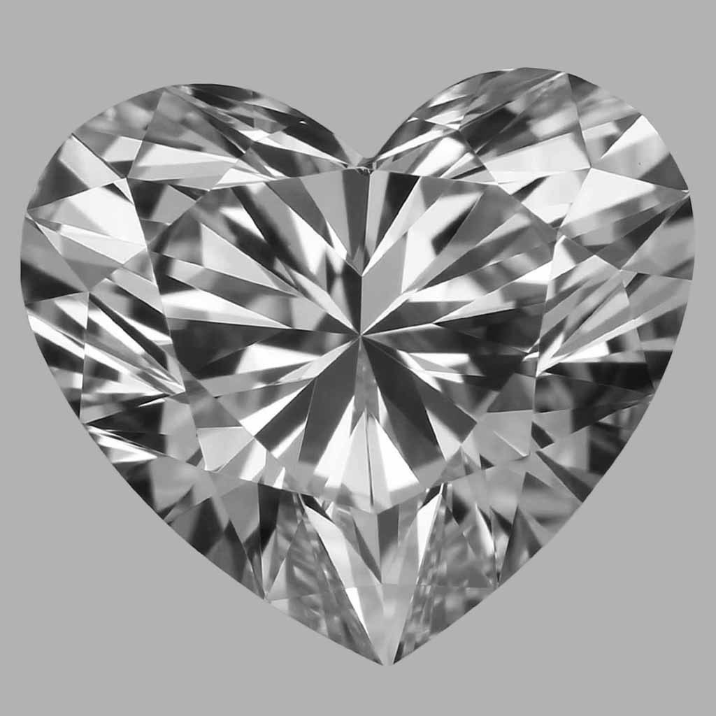 1.04 Carat Heart Diamond (D/IF)