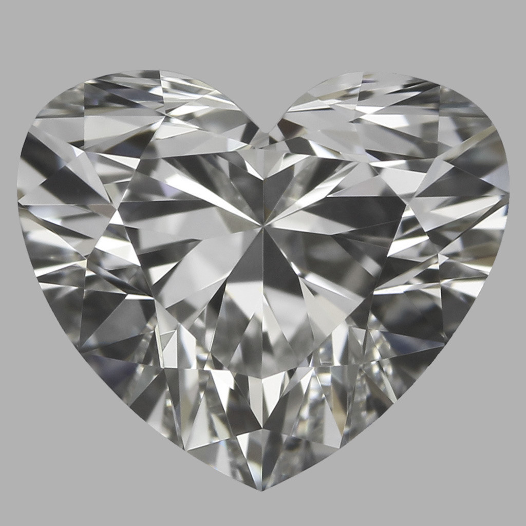 0.77 Carat Heart Diamond (H/VVS2)