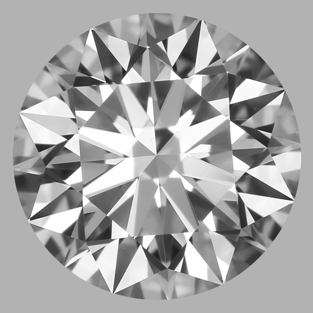 0.76 Carat Round Brilliant Diamond (F/VS1)