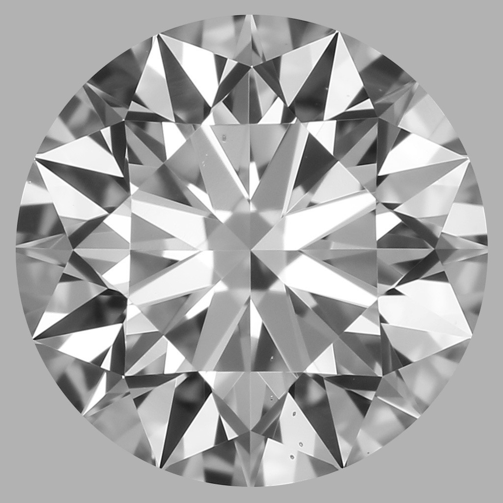 0.80 Carat Round Brilliant Diamond (D/VS2)