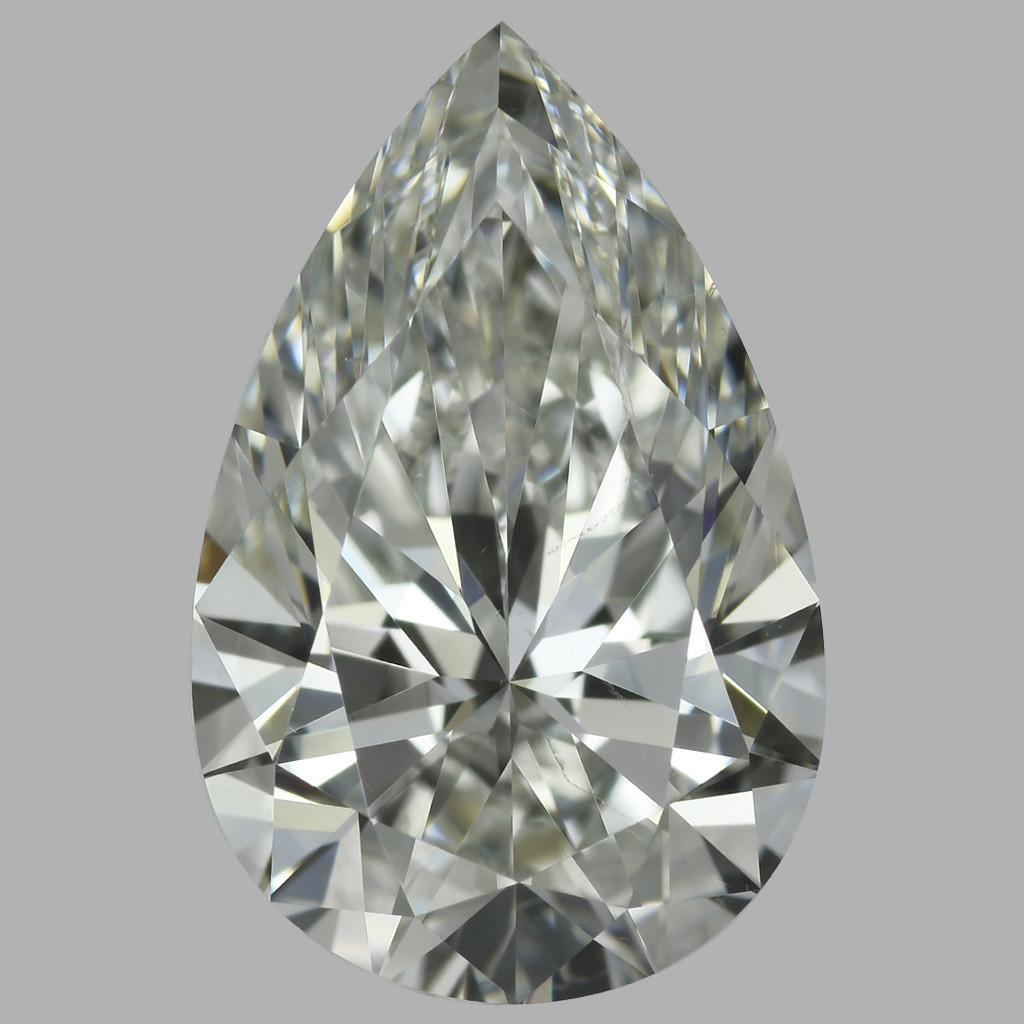 2.01 Carat Pear Diamond (H/SI1)